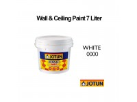 Jotun 7L White 0000, Jotaplast Max 000 Paint For Interior Building Suitable for Wall Ceiling Cat Dinding Warna Putih LittleThingy